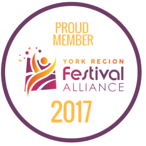 Proud Member - York Region Festival Alliance 2017